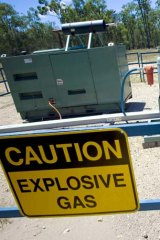 A report raises questions about the leakage of greenhouse gases from coal seam gas projects.