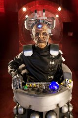 Julian Bleach proves monstrous as Davros in the TV series <i>Doctor Who.</i>