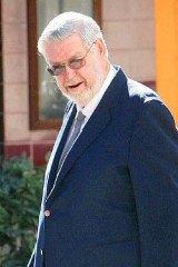 Jailed priest Murray Alexander Moffat.
