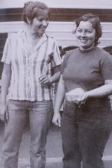 Lorraine Ruth Wilson (left) and Wendy Joy Evans were found murdered after they went missing in 1974.
