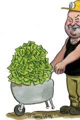 Treasure trove … John Maitland sold his shares for $1.14 million.