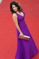 Salma Hayek at the screening of <i>Carol</i> in Cannes.