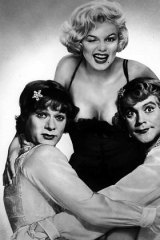 The cast of <i>Some Like it Hot</i>.