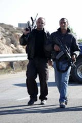 Armed: Filmmaker Yuval Adler says they did not aim to produce a 'God's-eye truth' movie.