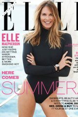 Elle Macpherson graces the cover of Elle for the first time in 25 years.