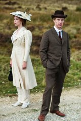 Not enough of a good thing: Rebecca Hall and Benedict Cumberbatch star in <i>Parade's End</i>.