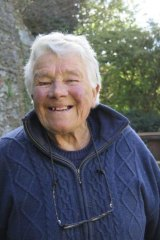 Dervla Murphy says she hasn't given up on writing, but is not discussing the topic of the next book.