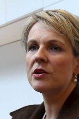 Health Minister Tanya Plibersek.