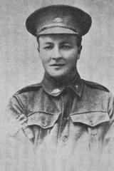 George Challis, Carlton footballer, and AIF sergeant.