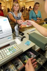 Pay cut? ... Retailers are hoping to cut the Sunday pay rates.