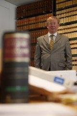 Sydney barrister Noel Hutley, SC.