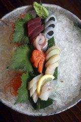 Sweet and fresh ... sashimi.