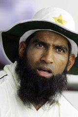 Fallout ... Pakistani cricketer Mohammad Yousuf won't represent his country again.