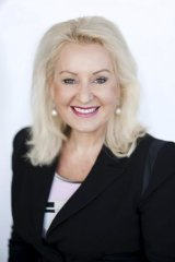 Pink Ribbon campaign supporter: Former journalist and media commentator Prue MacSween is a breast cancer survivor.