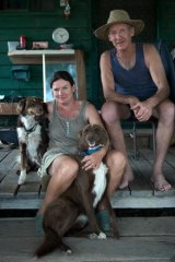 Bushman Graeme 'Padge' Padgett and his partner, Debbie Jackson, love living near the Barmah Forest by the Murray.
