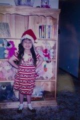 Angelica Rankin, aged 5.