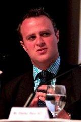 Australia's new human rights commissioner Tim Wilson.
