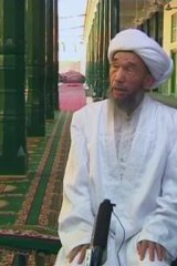 Assassinated: Juma Tayir, the imam of Kashgar's Id Kah mosque, was allegedly killed by separatists.