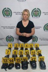 Cassandra Sainsbury was found with 5.8 kilograms of cocaine.