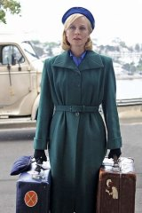 More than <i>Downton</i> v2.0: Marta Dusseldorp in <i>A Place to Call Home</i>.