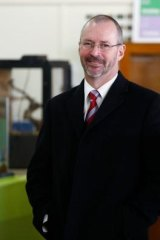 Templestowe College principal Peter Hutton.
