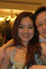 Businessman Matthew Ng and his wife, Niki Chow.