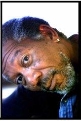 New angle: Morgan Freeman 'totally understood' Fast Black, his menacing pimp from <i>Street Smart</i>.