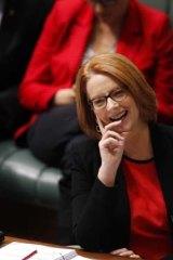 Show of confidence: Prime Minister Julia Gillard.