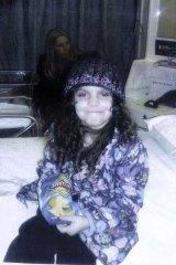 Missing ...  Kiesha Abrahams pictured on July 7.