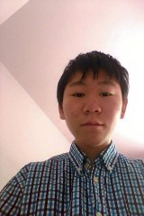 Bao Zhuoxuan, 16, the teenage son of detained human rights lawyer Wang Yu.