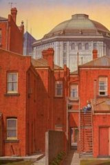 <i>The Grand Reading Room</i>, 1998, by Robert Clinch.