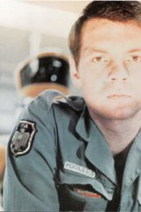 Gary Lockwood in<i> 2001: A Space Odyssey.</i>