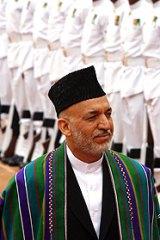 Afghanistan President Hamid Karzai.