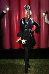 Fashions on the Field winner Kirsty MacGillivray.