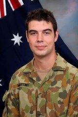 Sapper James Martin, from Perth.