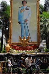 Penalties .... Thai people face charges if they insult the king, queen, heir or regent.