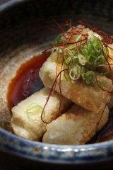 Sake's salt and pepper tofu.