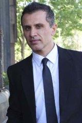 The accused: Simon Gittany.