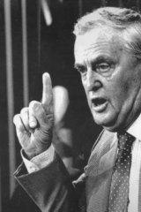 Joh Bjelke-Petersen held power in Queensland for 19 years.