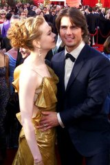 Tom Cruise and Nicole Kidman arrive for the 72nd annual Academy Awards, 2000.