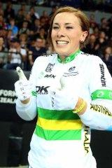 Canberra's BMX and mountainbiking champ  Caroline Buchanan.