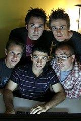 <i>The Chaser</i> team.