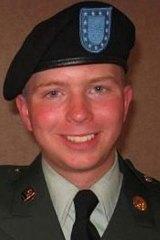 Under suspicion ... Bradley Manning.