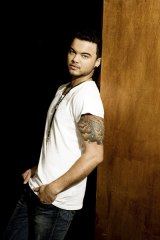 Let the music play ... Guy Sebastian, one of the many artists available as part of the subscription service.