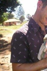 Russell Barton in Uganda.