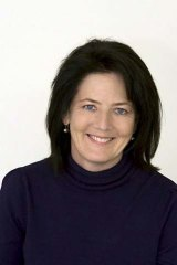 Taunted on Facebook ... the Liberal MP Catherine Cusack.