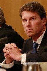 Under fire: Liberal senator Cory Bernardi.
