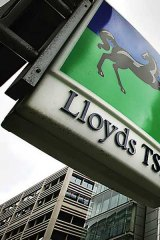Lloyds is to be split up.