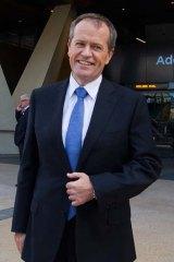 Falling in the leadership approval poll: Opposition Leader Bill Shorten.
