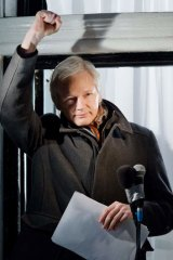 Julian Assange ... 'I must remain here.'